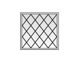 Picture Diamond Grille Pattern