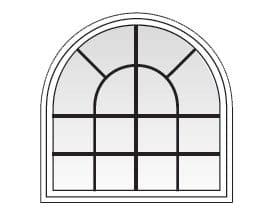 Specialty Windows - Springline Grille Patterns