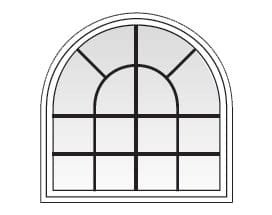 100 series specialty shape windows for Andersen windows u factor