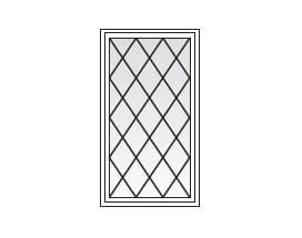 Andersen Windows Grilles Diamond Pattern
