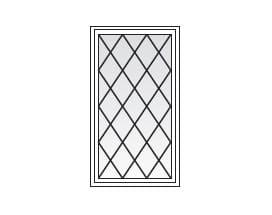 Andersen Windows Grilles Diamond Pattern