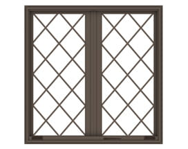 French Casement - Diamond Grilles