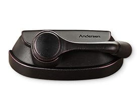 Andersen Windows Hardware Finishes Black