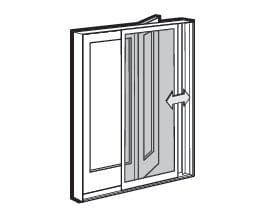 Gliding Door Screens