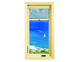 E-Series retractable casement window screen