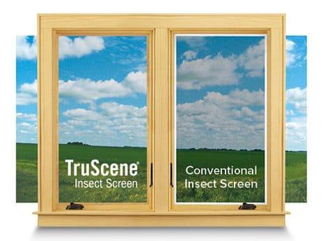 Andersen TruScene Insect Screen Comparison
