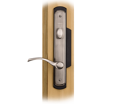 Hinged Patio Door VeriLock Hardware