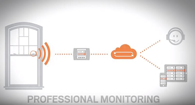professional monitoring video