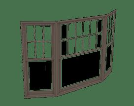 400 Series Double-Hung Bay Window