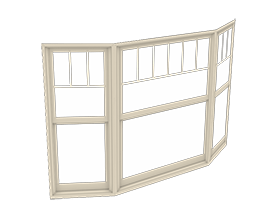 400 Series Woodwright Bay Window