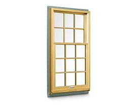 400 series tilt wash double hung window for Wood double hung andersen 400 series