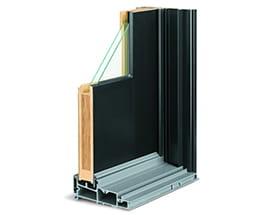 A Series Gliding Door Frame