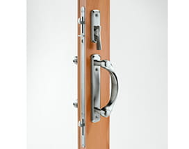 A-Series gliding door locking system