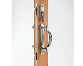 A-Series gliding door locking system