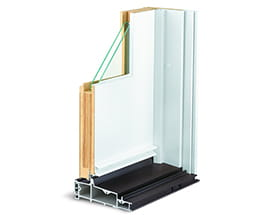 A-Series hinged door frame - inswing