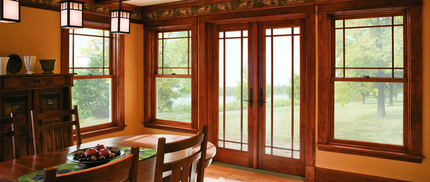 3 Panel Hinged Patio Door : A series hinged patio door