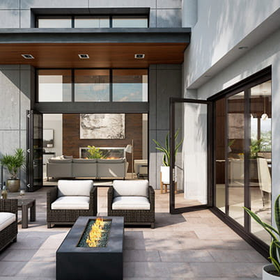 folding patio doors