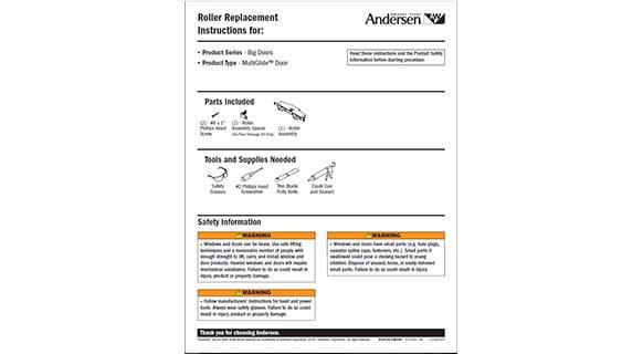 roller adjustment