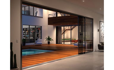 Indoor Outdoor Living Big Doors