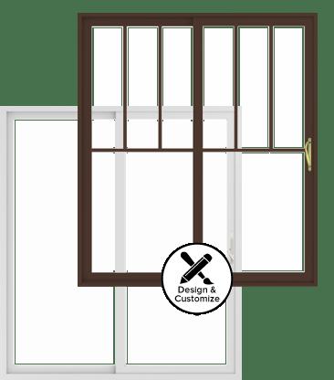 Andersen Windows Design Tool   100 Series GLiding Patio Door