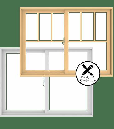 Andersen Windows Design Tool - 200 Series Gliding Window