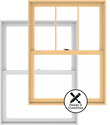 Andersen Windows Design Tool - 200 Series Double-Hung Window