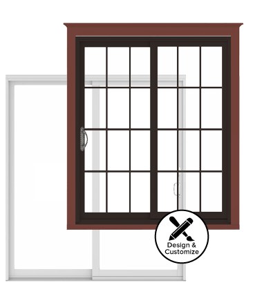 Andersen Windows Design Tool - 200 Series Narroline Gliding Patio Door