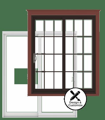 Elegant Andersen Windows Design Tool   200 Series Narroline Gliding Patio Door