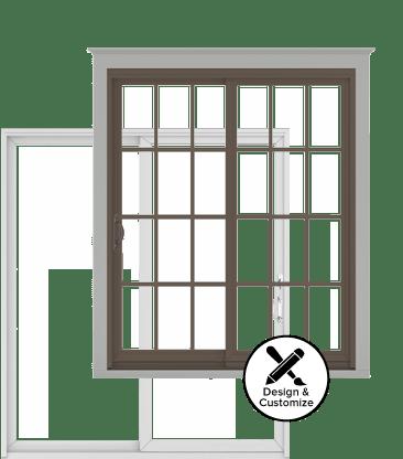 Andersen Windows Design Tool   200 Series Permashield Gliding Patio Door