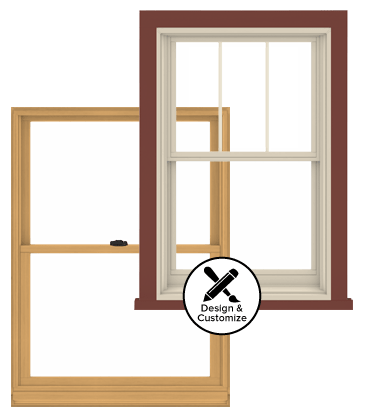 Andersen Windows Design Tool - 400 Series Double-Hung Window