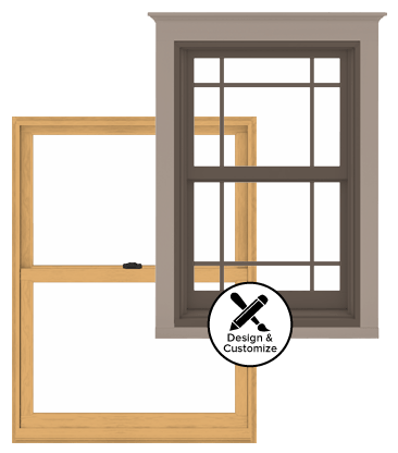 Andersen Windows Design Tool - 400 Series Woodwright Double-Hung Window