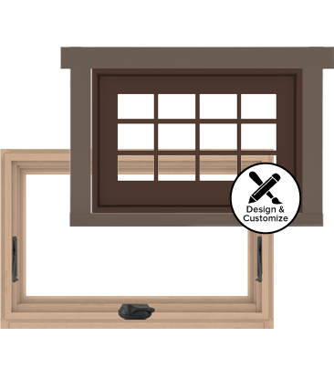 A series awning window for Window design tool