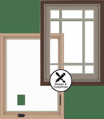A series casement window for Window design tool