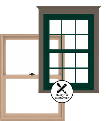Andersen Windows Design Tool - A-Series Double-Hung Window
