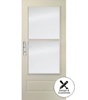 10 Series 3/4 Light Storm Door