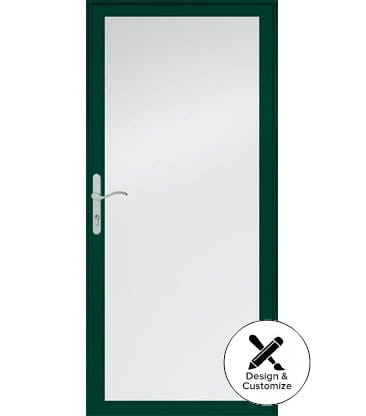 6 series fullview interchangeable storm door for Door design tool