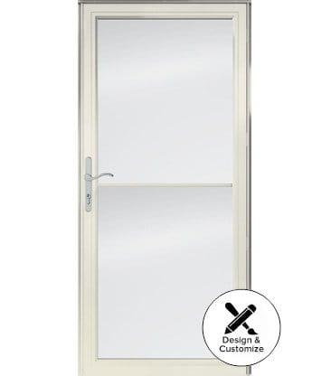 6 Series Fullview Retractable Storm Door