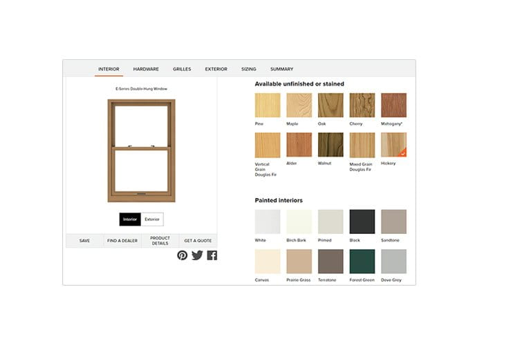 Use the Andersen® Windows design tool to create the window or door you're looking for.