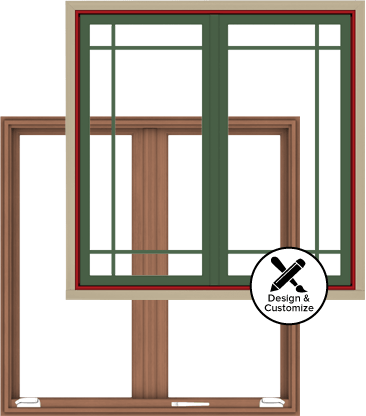 Andersen Windows Design Tool - E-Series French Casement Window