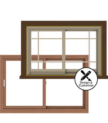 Andersen Windows Design Tool - E-Series Gliding Window