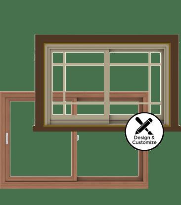 Andersen Windows Design Tool - E-Series Gliding Window