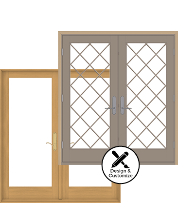 E-Series Hinged Patio Door