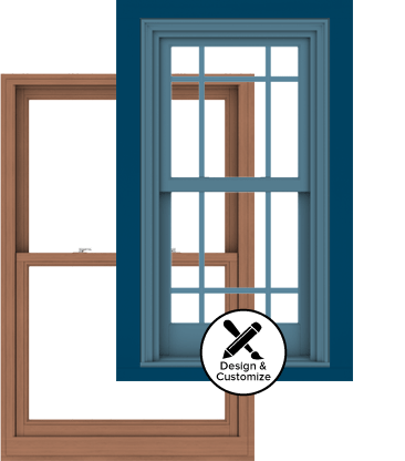 Andersen Windows Design Tool - E-Series Double-Hung Window