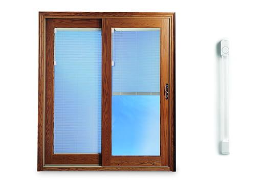 Andersen blinds between the glass