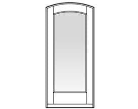Andersen Entry Door Style 108