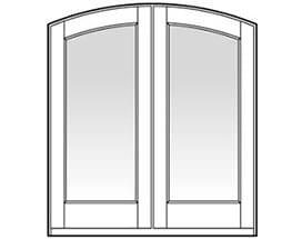 Andersen Entry Door Style 110