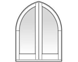 Andersen Entry Door Style 115