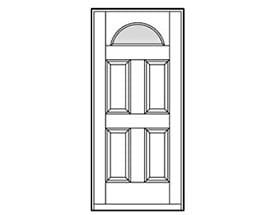 Andersen Entry Door Style 184