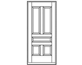 Andersen Entry Door Style 192