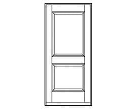 Andersen Entry Door Style 195